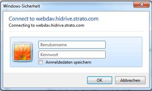 WebDAV-Passwort