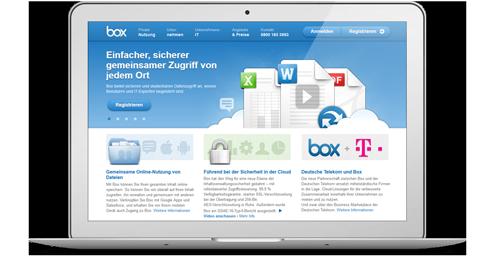 Box Webseite