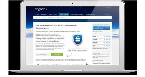 Dogado Webseite
